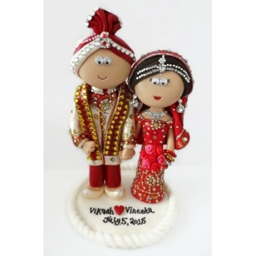 Indian Wedding Gift Baskets Uk : Indian Wedding cake topper