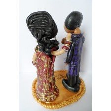 Asian Bride cake topper