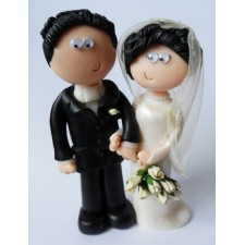 50th wedding anniversary Bride & Groom gift