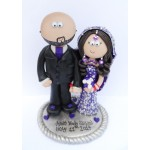 Wedding Cake Topper (Asian Couple)
