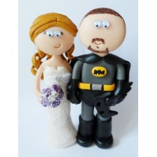 Batman wedding cake topper