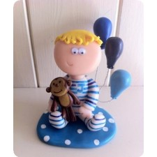 Birthday boy cake toppers
