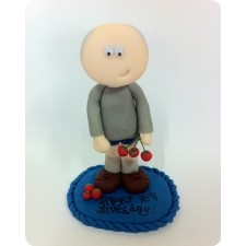 Gardener birthday cake topper