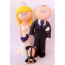 Wedding cake toppers, family