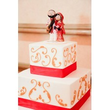 Indian wedding cake topper UK