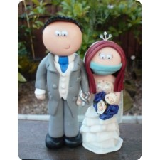 Dentist wedding cake topper