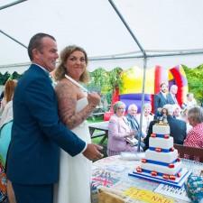 Personalised wedding cake topper UK