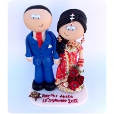 Asian custom handmade cake toppers