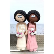 Same sex wedding toppers