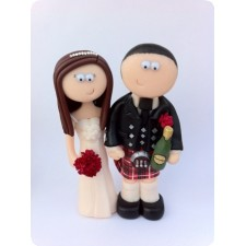 Scottish Bride and Groom