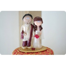 Asian wedding cake topper