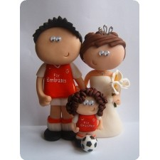 Liverpool football wedding toppers