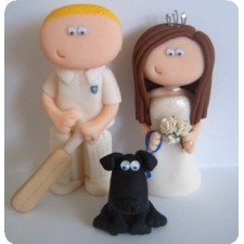 Cricket wedding toppers