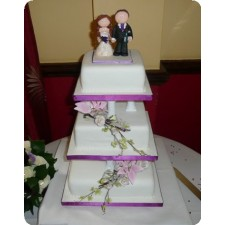 Our toppers on cakes