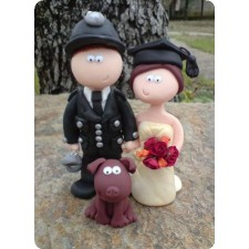 Uniforms/Military theme wedding toppers